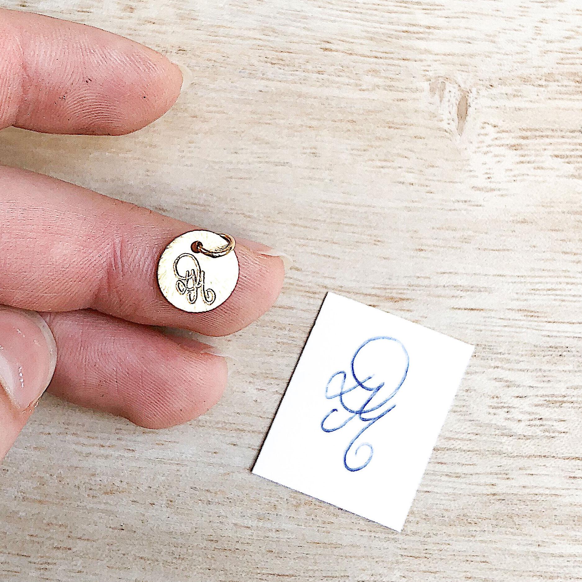 Personalisierte Gravur Schmuck Andenken Halskette