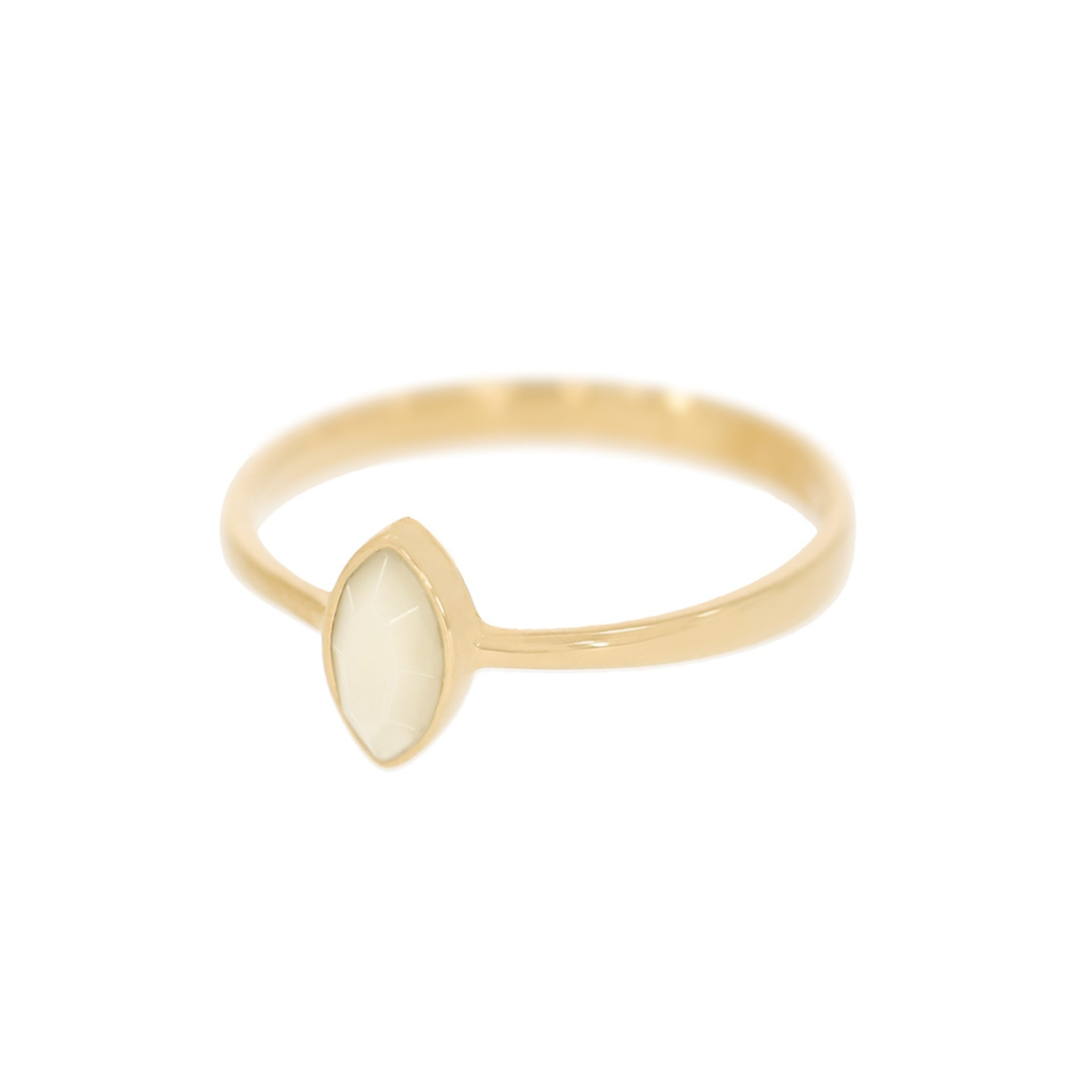 Muttermilch Ring 750 Gold