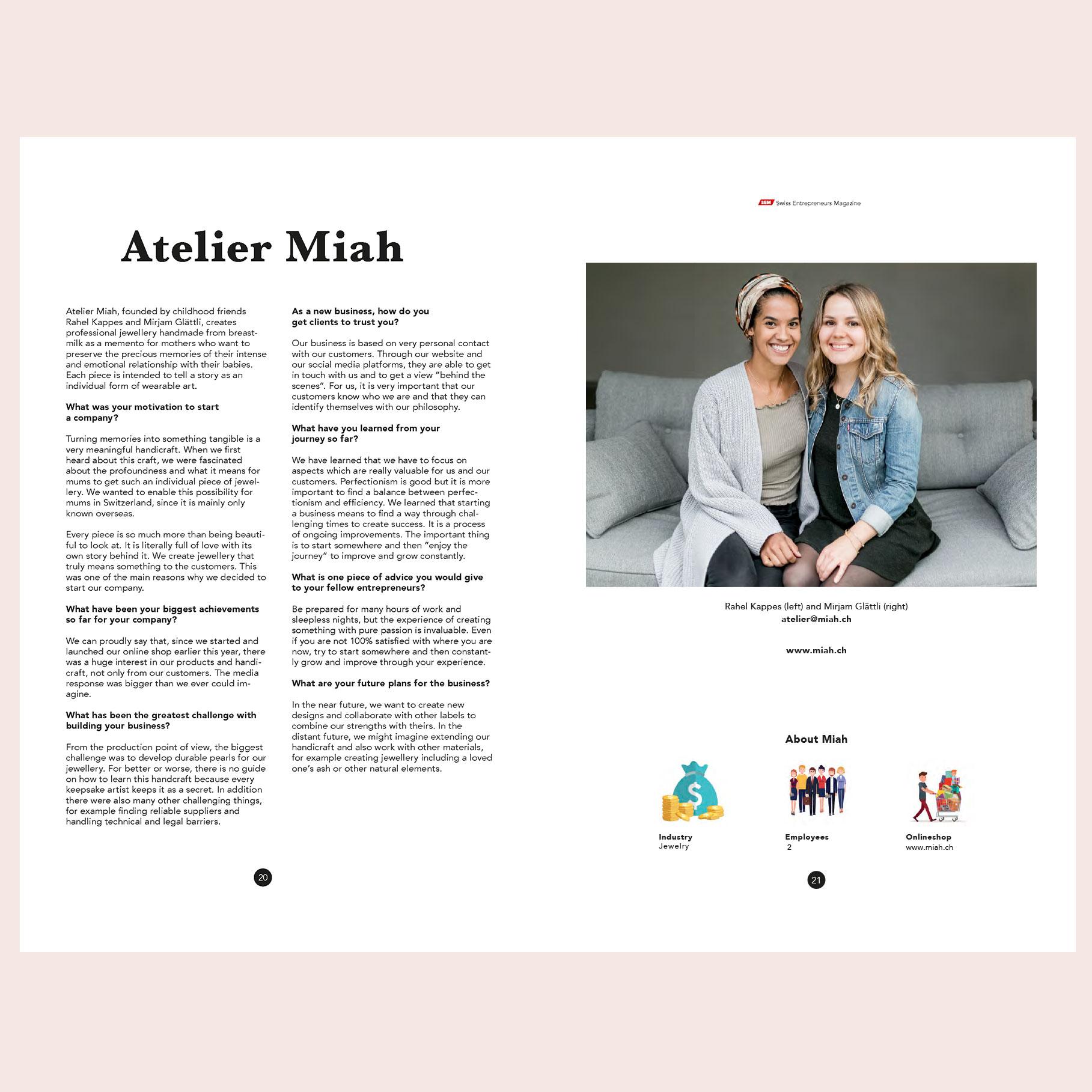 Schweizer Jungunternehmerinnen Start Up Schweiz Frauen