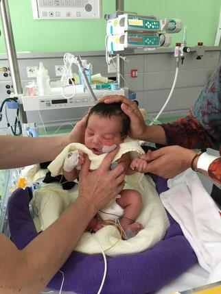 neonatologie geburtsbericht spital