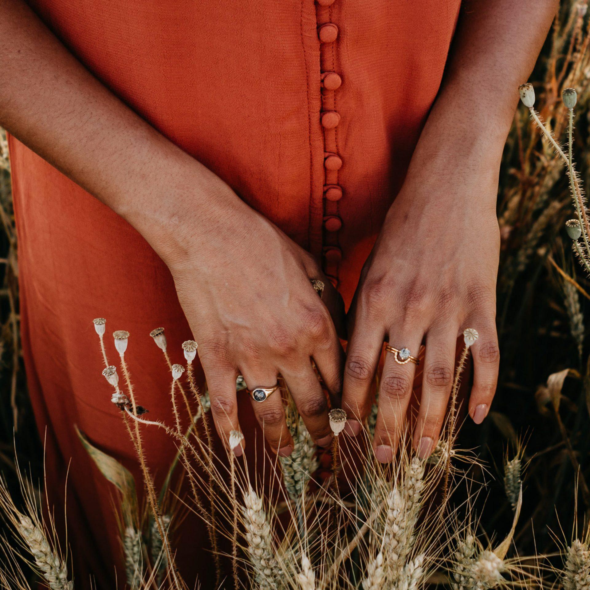 Ring aus Asche von verstorbenen Menschen oder Tieren Schweiz Österreich