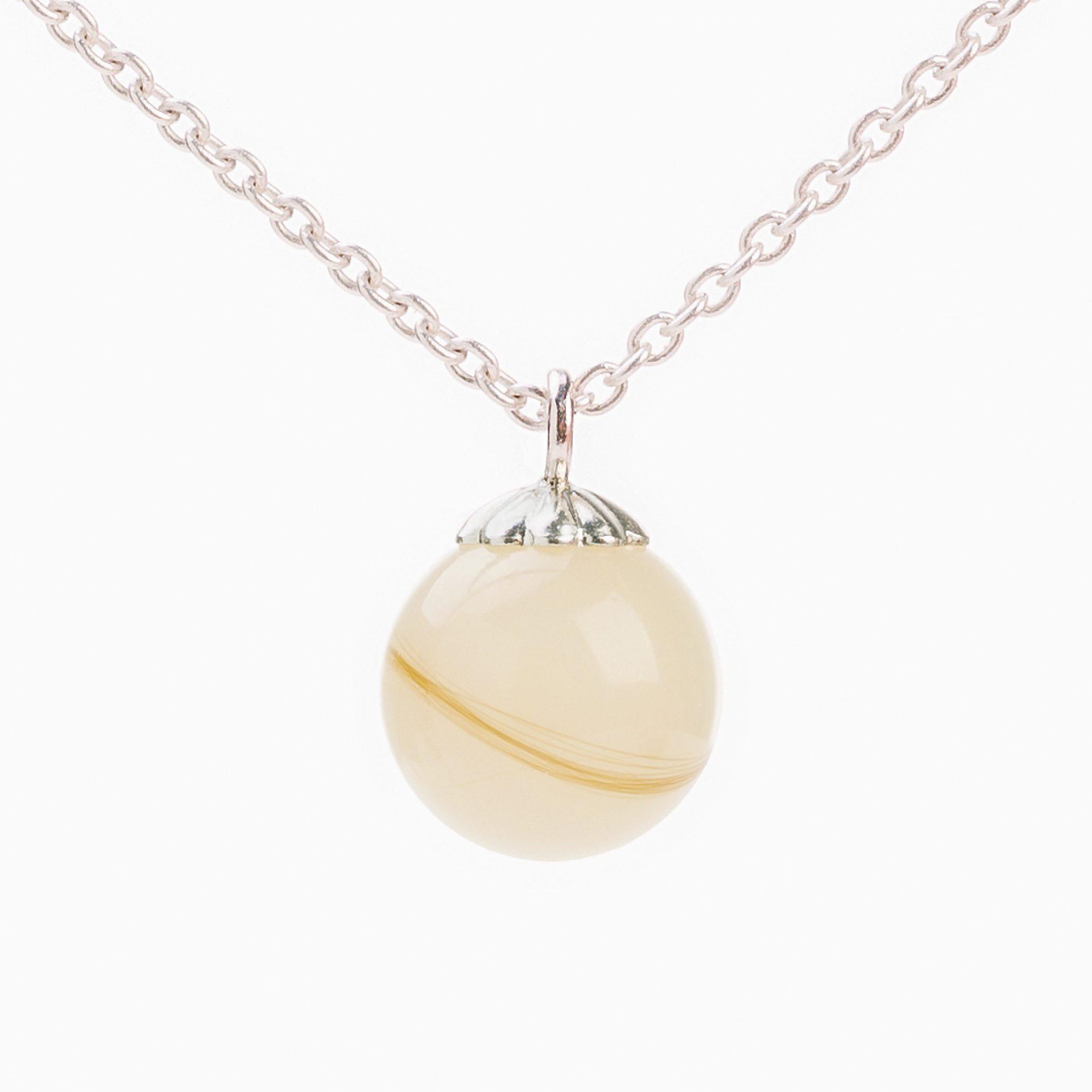 Muttermilch Perle mit Baby Haar Silber Schweiz Deutschland