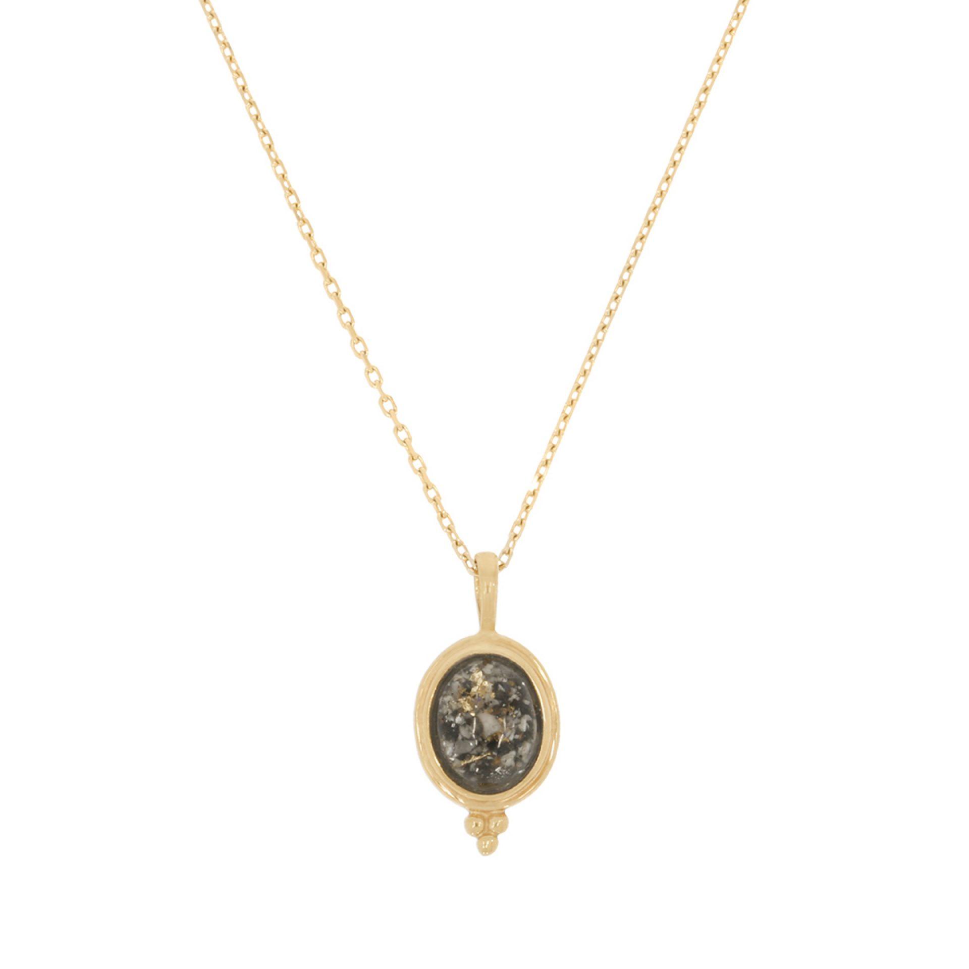 Halskette mit Haar Kremationsasche Erinnerung Mensch Tier