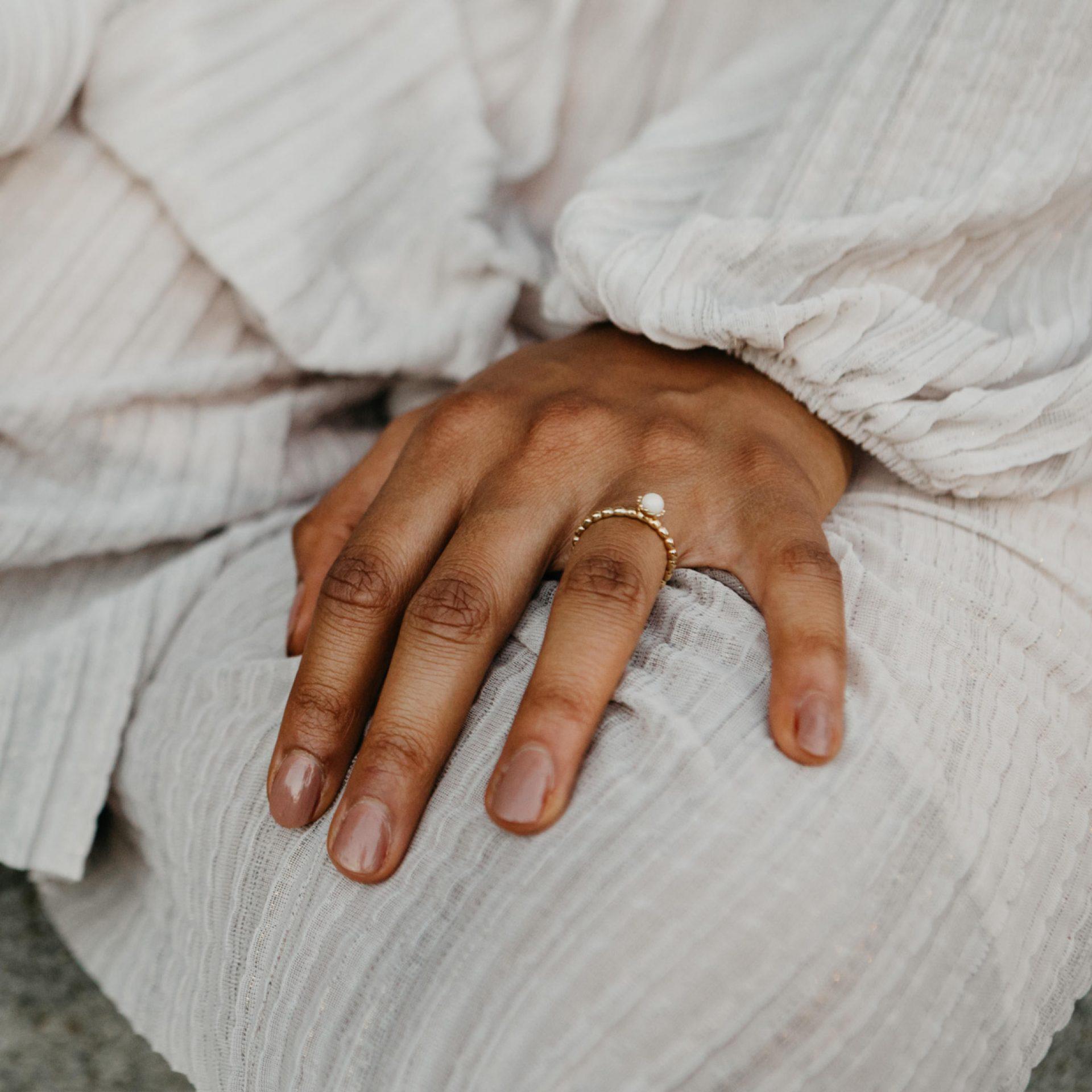Muttermilchschmuck Ring Gold Silber Schweiz Deutschland Österreich
