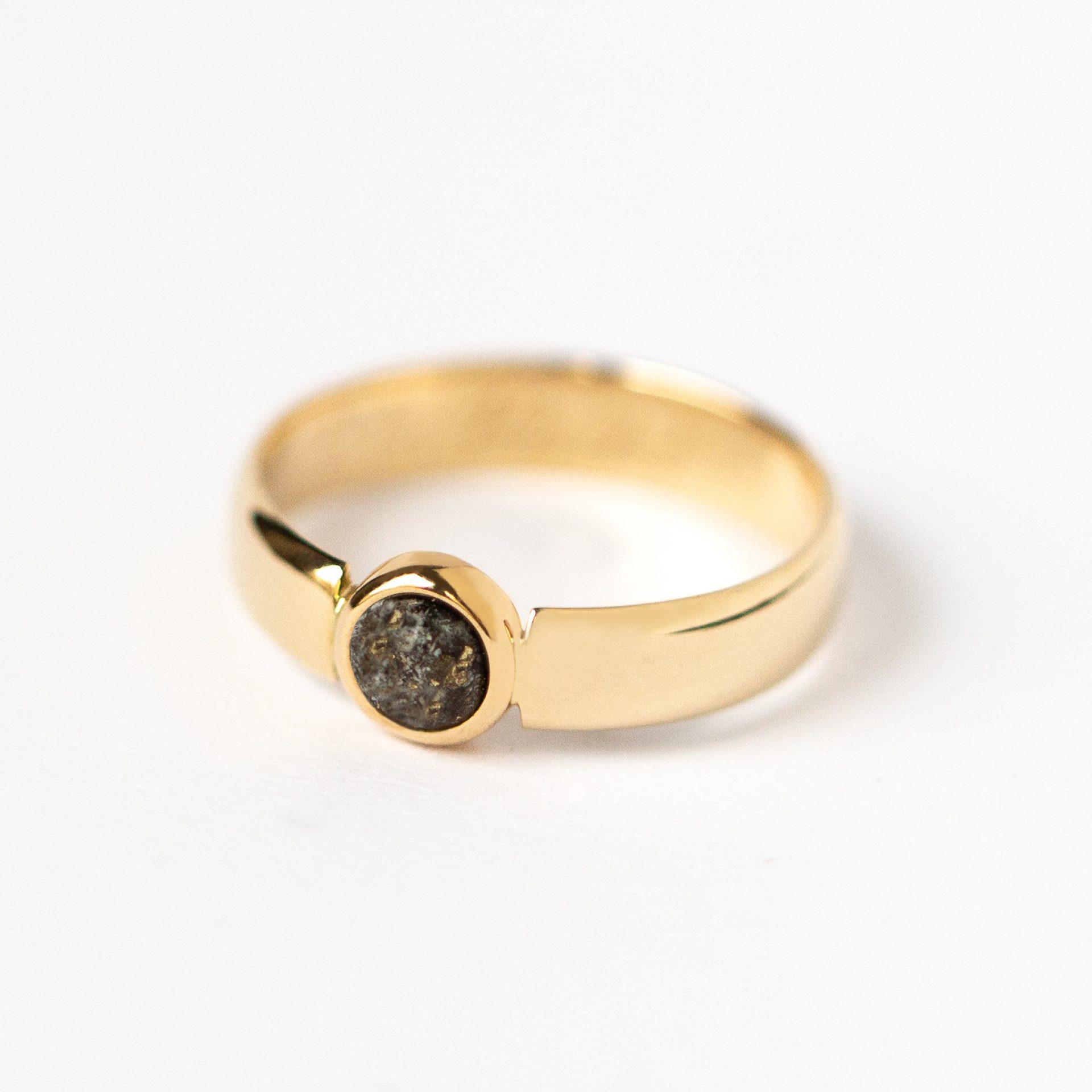asche ring frau kremationsasche haar erinnerungsschmuck ring